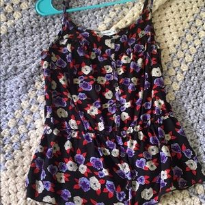 Frilly tank top